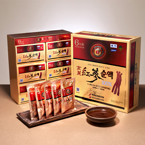 Korean Red Ginseng Extract Drink 80mlx60packs