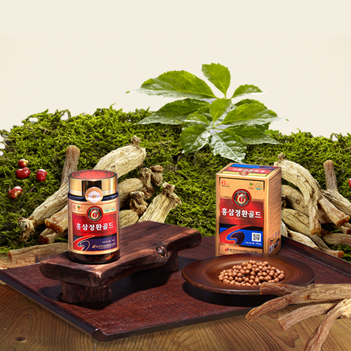Red Ginseng Pill Gold 1 pack