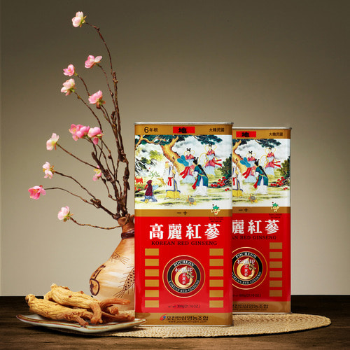 Red Ginseng Roots (earth grade ginseng)