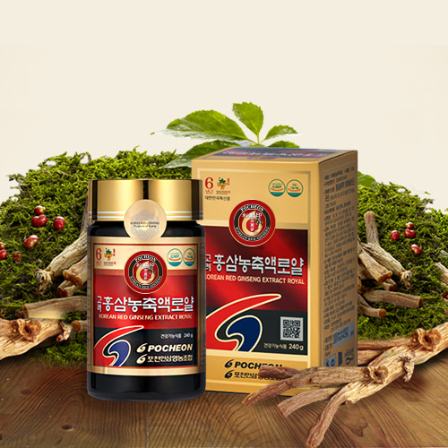 Korean Red Ginseng Concentrate Royal 240g(Rg1+Rb1+Rg3=18mg)