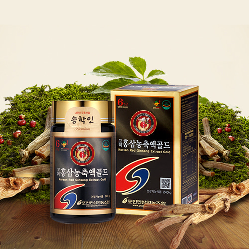 Korean Red Ginseng Concentrate Gold 240g