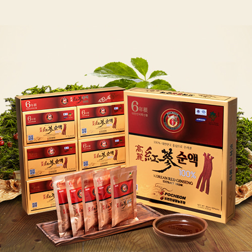 Korean Red Ginseng Extract Drink 80mlx30packs