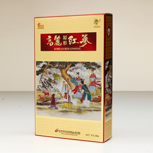 Goryeo Red Ginseng in Original Shape
