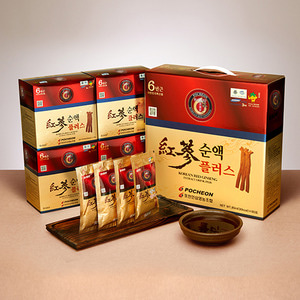 Korean Red Ginseng Extract Drink Plus 60 packs