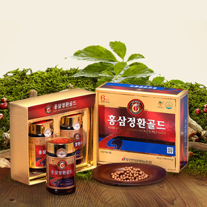 Red Ginseng Pill Gold 2 pack