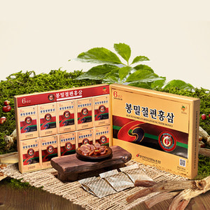 Sliced Korean Red Ginseng with Honey (6-year-old)