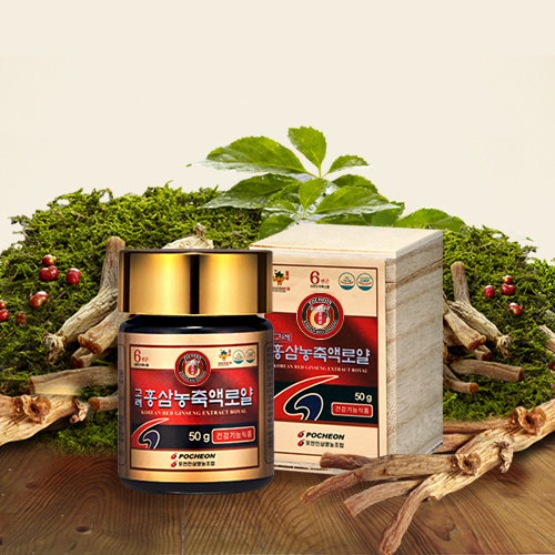 Korean Red Ginseng Concentrate Royal 150g (Rg1+Rb1+Rg3=18mg)